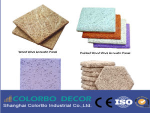 Wood Wool Cement Board Acoustic Panels pictures & photos