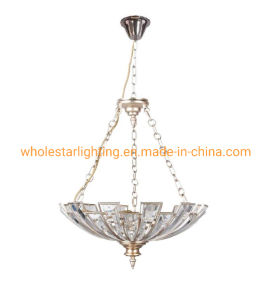 Metal Pendant Lamp with Crystal (WHG-322)