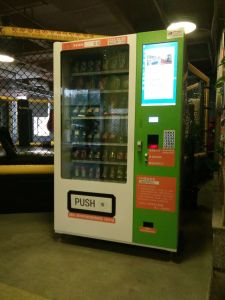Automatic Large Snack & Drink Combo Vending Machine with Cooling Function