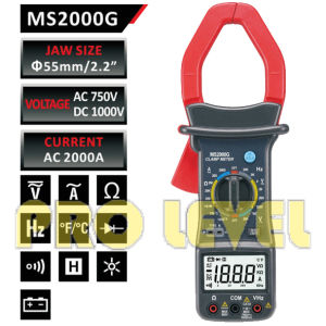 Digital AC and DC Clamp Meter (MS2000G) pictures & photos