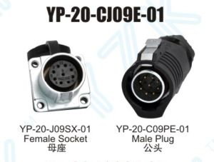 Data-Signal Connector (YP-20-CJ(JC)09E-01)