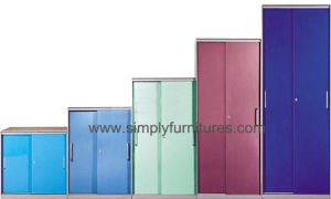 Colorful Roller Shutter Door Cabinet pictures & photos