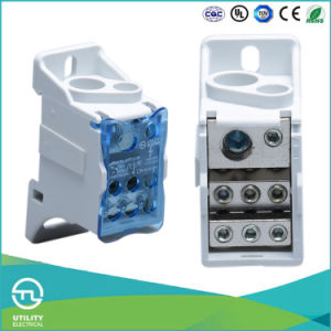 DIN Rail Mount Block Terminal 690V pictures & photos