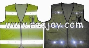 Flashing Security Vest (B007)