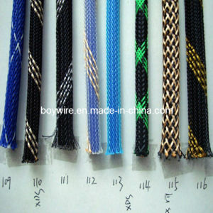 Cable Tube/Multi-Colored Pet Expandable Braided Sleeving pictures & photos