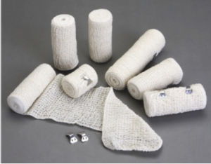 Natural Color Elastic Crepe Bandage with CE FDA ISO pictures & photos