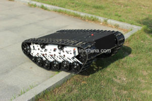 Robot Platform RC Rubber Tracked Vehicle (K03SP6) pictures & photos