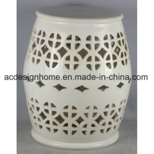Stupendous Antique Chinese Fancy Piercing Home Decorative Round Ceramic Garden Drum Stool Pabps2019 Chair Design Images Pabps2019Com