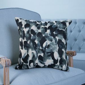 Digital Print Decorative Cushion/Pillow with Black Watercolor Geometric Pattern (MX-35) pictures & photos
