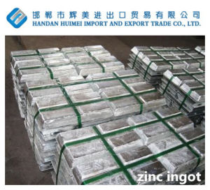 Zinc Ingot 99.995 pictures & photos