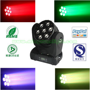 7X15W RGBW 4in1 Beam Stage Light pictures & photos
