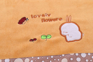 Embroidered Quickly Dry Microfiber Bath Towel