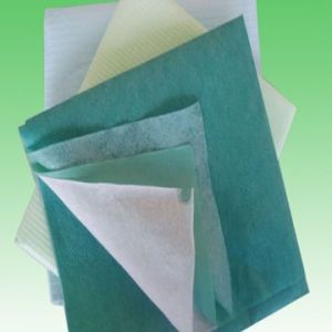 SMS Polypropylene Spunbonded Nonwoven Fabric pictures & photos
