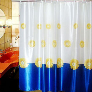 Good Quality Premium Plastic Custom Shower Curtain pictures & photos