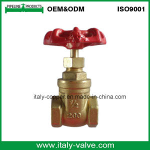 OEM Italy Type Brass Forged Gate Valve (AV4056) pictures & photos