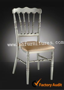 Satcking Aluminum Chateau Napoleon Chair for Wedding (YC-A32) pictures & photos