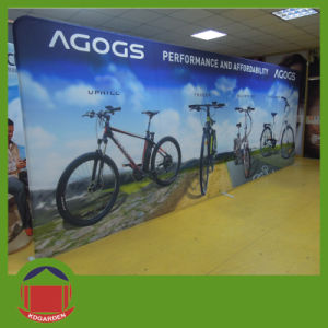 Dye Sublimation Printing Straight Wall Banner pictures & photos