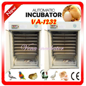 CE Approved Fully Automatic Chicken Egg Incubator Va-1232 pictures & photos