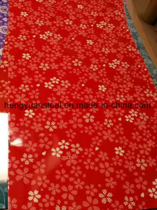 Flower Colors PPGI in Coil Prepainted Print Coating Sheet pictures & photos