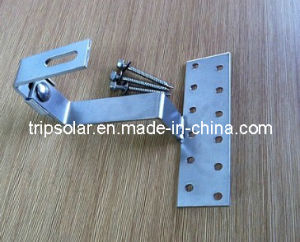 Stainless Steel Solar Pane Roof Hook for Tile Roof