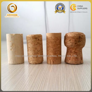 Food Grade 500ml Corked Empty Glass Wine Bottles (031) pictures & photos