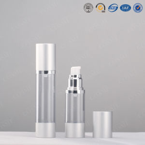 Cylinder Plastic Airless Lation Bottles