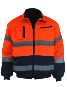 High Visibility Polycotton Jacket (EUR026)