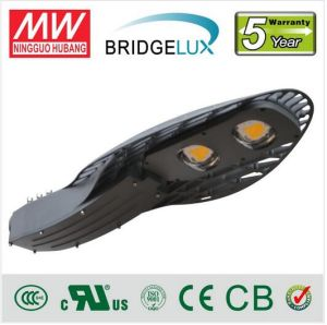 Bridgelux Chip IP65 COB 100 Watt LED Street Light