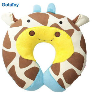 Custom Kid′s Travel Neck Pillow U-Shaped Soft Animal Pillow
