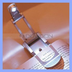 Multi-Functional Mini LED Book Light Clip Reading Lamp pictures & photos