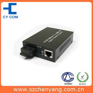 Fiber Optic Media Converter (10/100/1000Base-Tx to 1000Base-SX 850nm multi mode 220/550M)