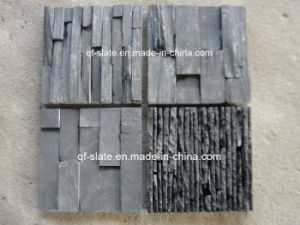 External&Internal Black Slate Stone Wall Panel for Building Materials