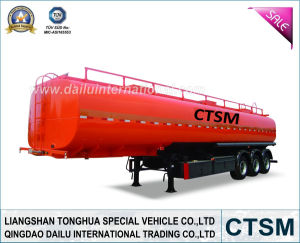 Carbon Steel Gasoline (Fuel) Tanker Trailer (Semi trailer)