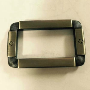 Brushed Antique Brass Buckle for Bags