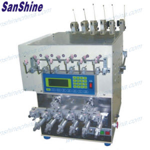 Six Spindles Automatic Coil Winding Machine with Wire Twister SS966T pictures & photos