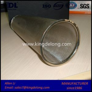 Perforated Mesh Filter Tube/ Stainless Steel Wire Mesh Filter Tube pictures & photos