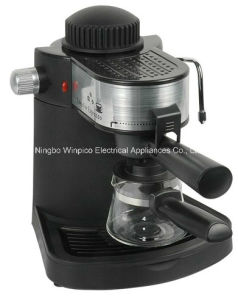 4-Cup Steam Espresso and Cappuccino Machine