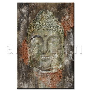 India Buddha Oil Painting for Decor
