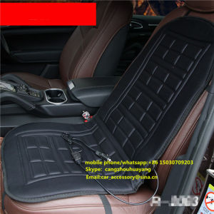 12V Heating Warmer Pad Winter Black Car Heated Seat Cover