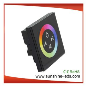 24V RGB Touch Panel LED Controller for LED Strips pictures & photos