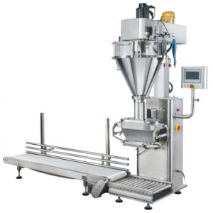 Factory Price Double Screw Weighing Filling Packing Machine pictures & photos