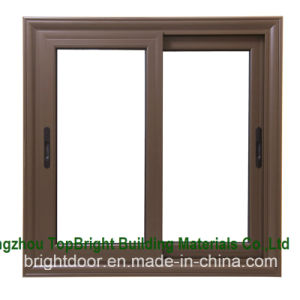 Sound Proof Standard Size Wooden Sliding Windows for Sale pictures & photos