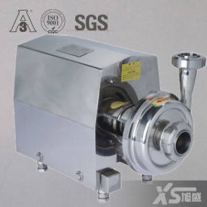 Stainless Steel Ss304 Sanitary Milk Centrifugal Pump with Open Impeller pictures & photos