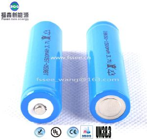 18650 Li-ion Battery 1500mAh for Electric Tools and Cleaners