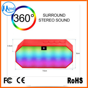 Top Selling Waterproof LED Outdoor Mini Bluetooth Speaker with 4.0 pictures & photos