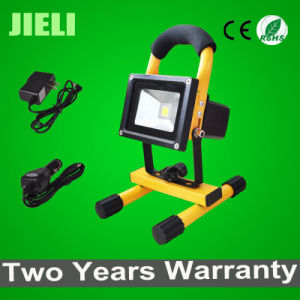 Outdoor 10W 8h Working Time LED Rechargeable Floodlight pictures & photos