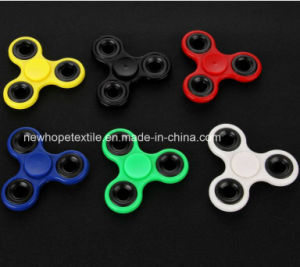 Cheap Fidget Spinner Solid Color Hand Finger Toys Fight EDC Tri Digit Air Plastic