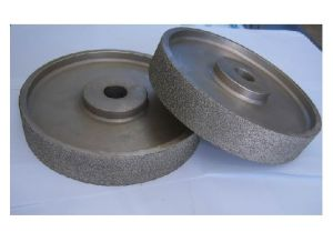 Flat Electroplating Diamond Grinding Wheel pictures & photos