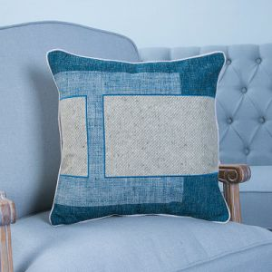 Hand-Made Decorative Cushion/Pillow with Patchwork Geometric Pattern (MX-51) pictures & photos