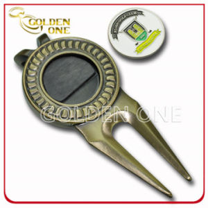 Promotional Gift Custom Genuine Leather Golf Bag Tag pictures & photos